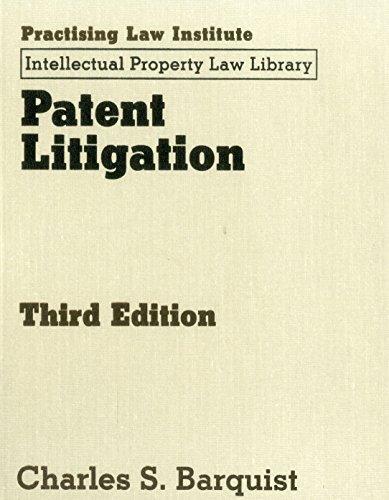 Patent Litigation: Charles S Barquist