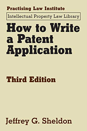 9781402425608: How to Write a Patent Application