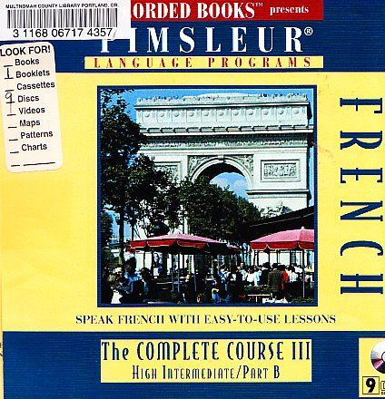 9781402501142: French: The Complete Course III: High Intermediate/Part B (Pimsleur Language Programs)
