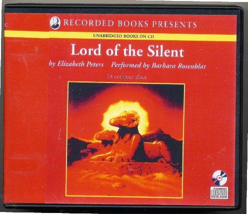 Lord of the Silent, Amelia Peabody Series Book 13 {Unabridged} {Audio} {Cd}: Elizabeth Peters