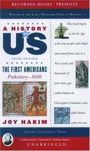 9781402524134: A History of US: Book 1: The First Americans Prehistory-1600