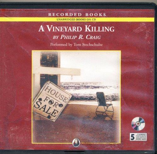 9781402596735: A Vineyard Killing