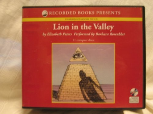 9781402597169: Lion in the Valley by Elizabeth Peters Unabridged CD Audiobook (The Amelia Peabody Series, Book 4)