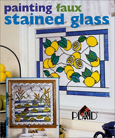 Painting Faux Stained Glass: Plaid