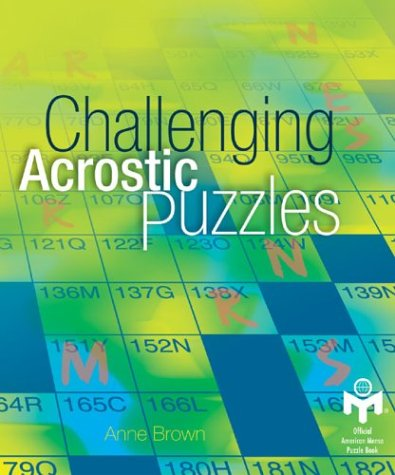 9781402705823: Challenging Acrostic Puzzles