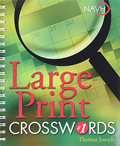 9781402707667: Large Print Crosswords #1