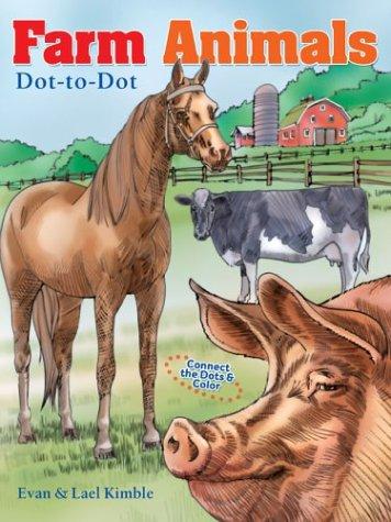 9781402709937: Farm Animals Dot-to-Dot