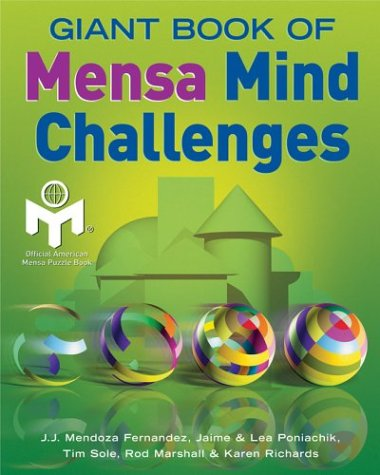 9781402710490: Giant Book of Mensa Mind Challenges