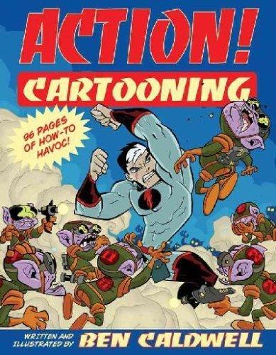 9781402714627: Action! Cartooning