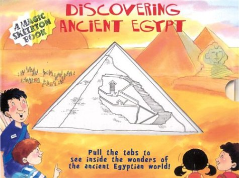 9781402715969: A Magic Skeleton Book: Discovering Ancient Egypt (Magic Color Books)