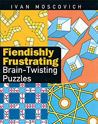 9781402718090: Fiendishly Frustrating Brain-Twisting Puzzles