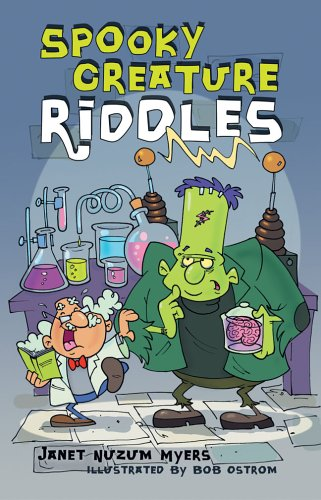 9781402718724: Spooky Creature Riddles