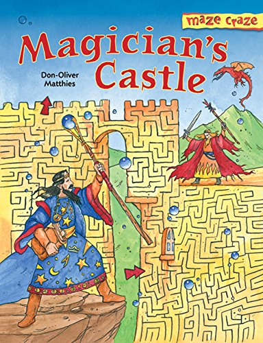 9781402726521: Maze Craze: Magician's Castle (Maze Craze Book)