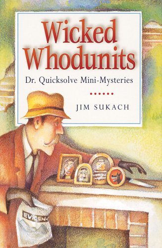 9781402727931: Wicked Whodunits: Dr. Quicksolve Mini-Mysteries