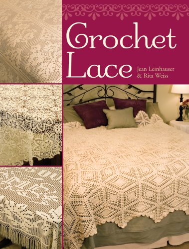 Crochet Lace Book Cover ~ Crochet lace by jean leinhauser rita weiss sterling