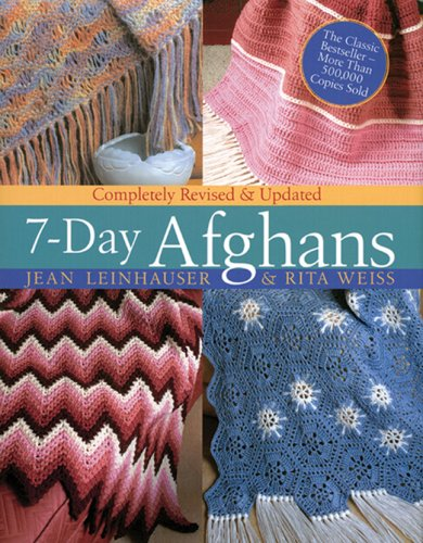 9781402734526: 7-Day Afghans