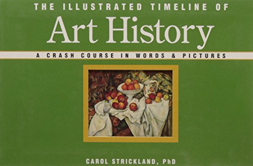 9781402736032: The Illustrated Timeline of Art History: A Crash Course in Words & Pictures