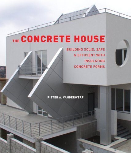 The Concrete House Building Solid Safe Efficient With
