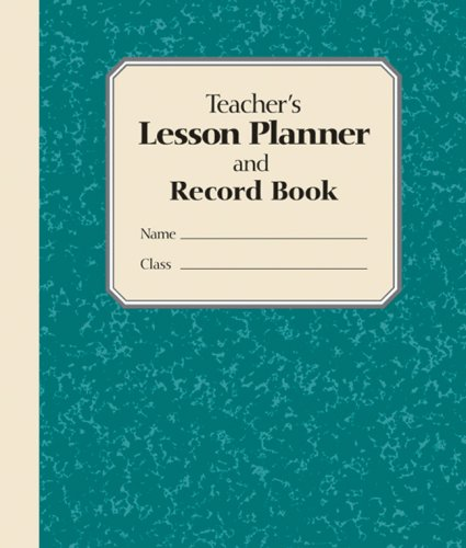 9781402737275: Teacher's Lesson Planner And Record Book: Green
