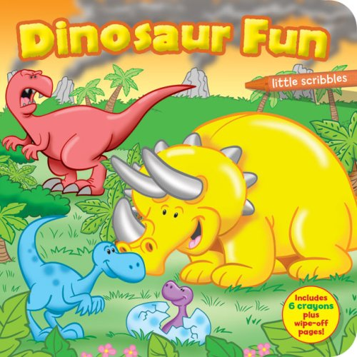 Little Scribbles: Dinosaur Fun: Less, Emma