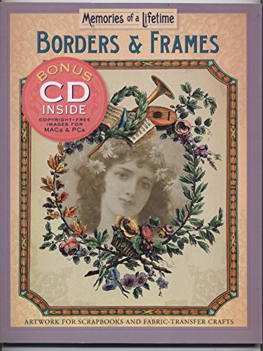 BORDERS & FRAMES} Borders & Frames : Artwork for Scrapbooks and Fabric-Transfer Crafts {...