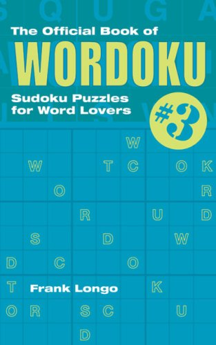 9781402739316: The Official Book of Wordoku #3: Sudoku Puzzles for Word Lovers