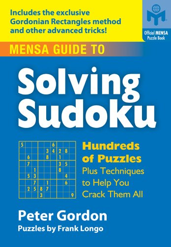 9781402740114: Mensa® Guide to Solving Sudoku: Hundreds of Puzzles Plus Techniques to Help You Crack Them All