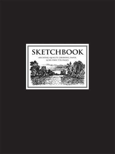 9781402740824: Sketchbook Black: Archival-Quality Drawing Paper