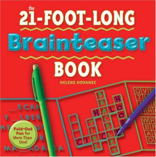 9781402742118: The 21-Foot-Long Brainteaser Book: Fold-Out Fun for More Than One!