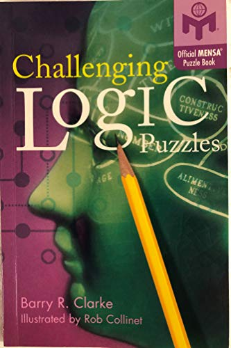 9781402743092: Challenging Logic Puzzles (Official MENSA