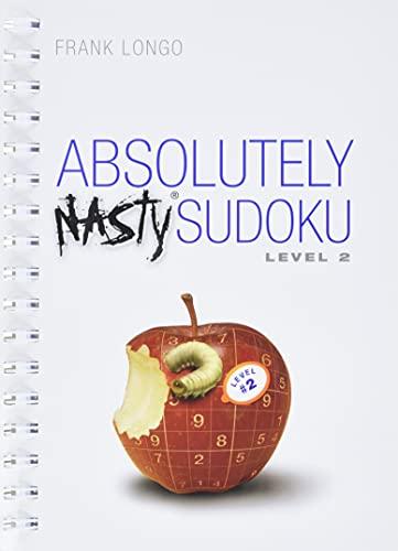 Mensa Absolutely Nasty Sudoku Level #2 (Official Mensa Puzzle Book): Longo, Frank