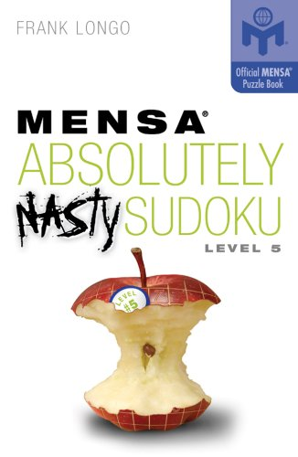9781402744006: Mensa Absolutely Nasty Sudoku Level 5 (Mensa)