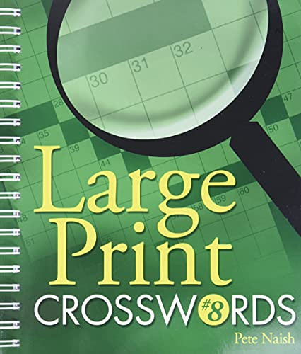 9781402744150: Large Print Crosswords #8