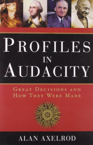 9781402745317: Profiles in Audacity: Great Decisions and How They Were Made