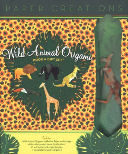 9781402745591: ePaper Creations: Wild Animal Origami Book & Gift Set (Easy Papercraft)