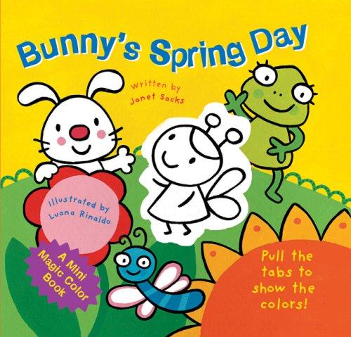 9781402745911: A Mini Magic Color Book: Bunny's Spring Day