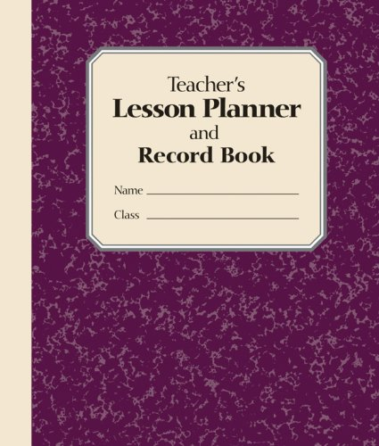 9781402747083: Teacher's Lesson Planner and Record Book