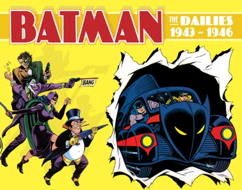 9781402747175: Batman: The Dailies 1943-1946