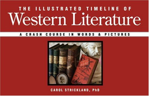 9781402748608: The Illustrated Timeline of Western Literature: A Crash Course in Words & Pictures
