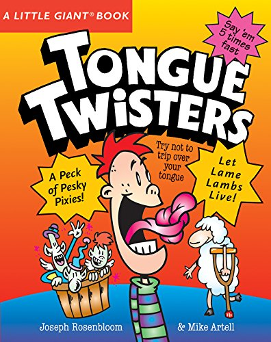 9781402749742: A Little Giant® Book: Tongue Twisters (Little Giant Books)