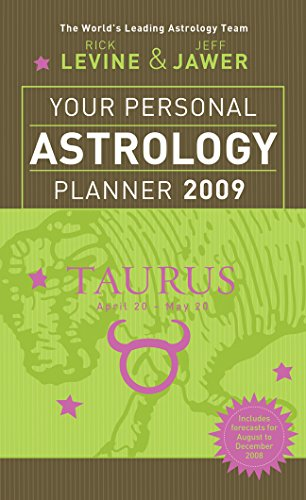 Your Personal Astrology Planner 2009: Taurus: Levine, Rick; Jawer,