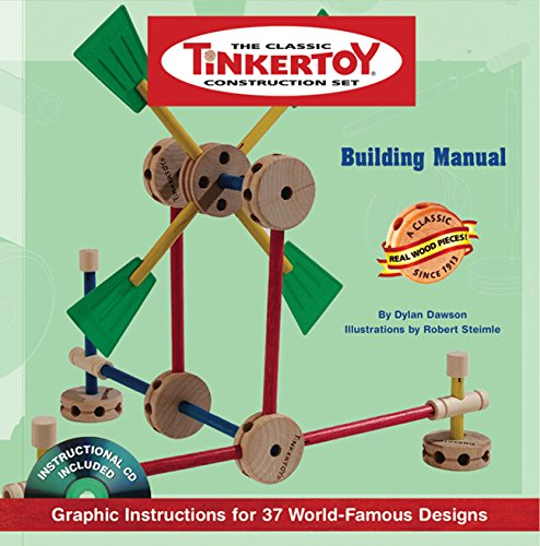 9781402750786: TINKERTOY Building Manual: Graphic Instructions for 37 World-Famous Designs