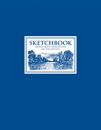 9781402751325: Sketchbook: Blue Large Spiral