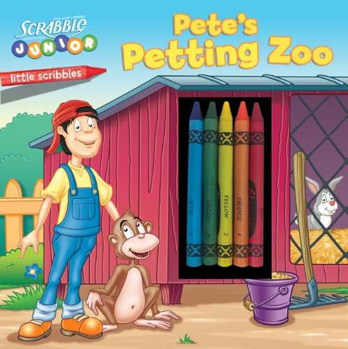 9781402753510: Little Scribbles: SCRABBLE JUNIOR: Pete's Petting Zoo