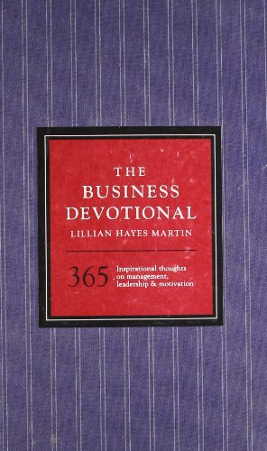 9781402756429: The Business Devotional: 365 Inspirational Thoughts on Management, Leadership & Motivation