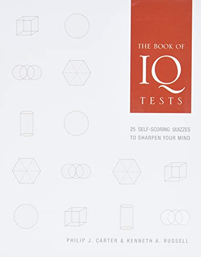 9781402757358: The Book of IQ Tests: 25 Self-Scoring Quizzes to Sharpen Your Mind