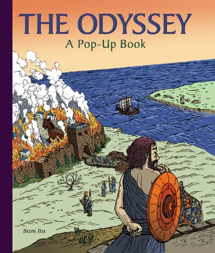 9781402758676: The Odyssey: A Pop-Up Book