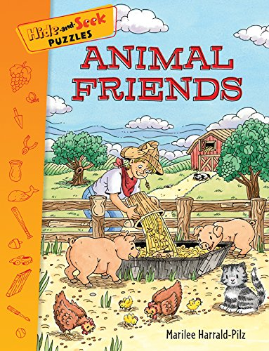9781402759086: Hide-and-Seek Puzzles: Animal Friends