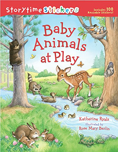9781402759338: Storytime Stickers: Baby Animals at Play