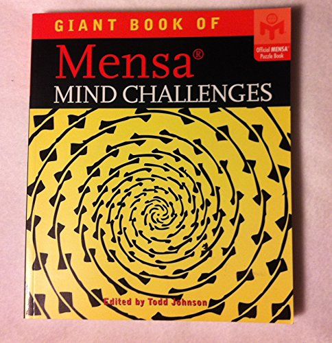 9781402759895: Giant Book of Mensa Mind Challenges